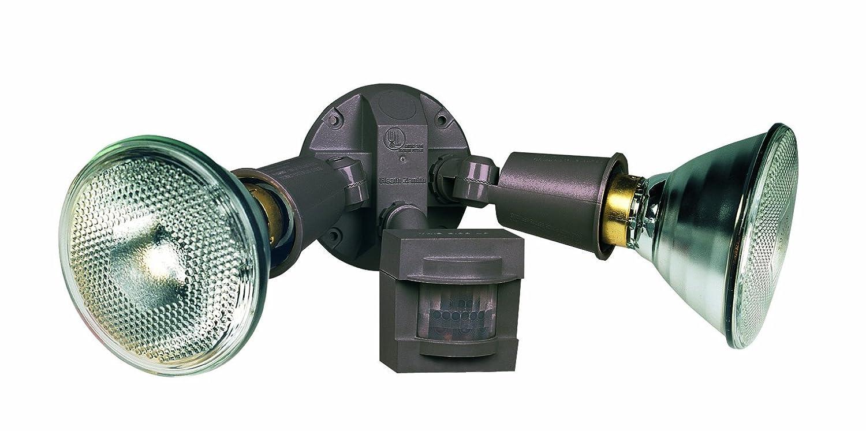 Electrical wiring outdoor flood light with motion sensor led flood heath zenith sl 5408 bz motion sensing non metallic security light aloadofball Choice Image