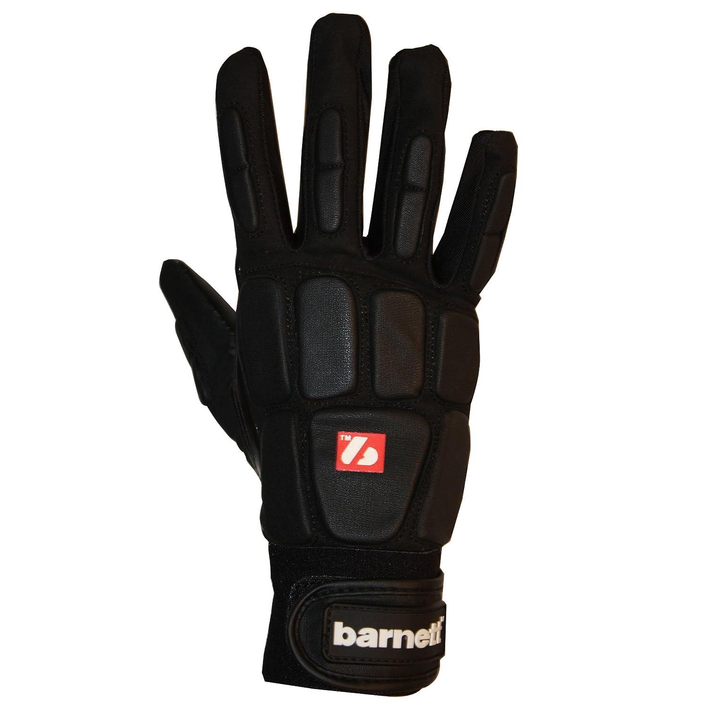 Barnett FKG-03 - Guantes de fútbol americano para apoyador, color negro