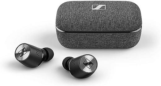 Sennheiser Momentum True Wireless 2 Bluetooth-in-ear hoofdtelefoon met actieve ruisonderdrukking, zwart