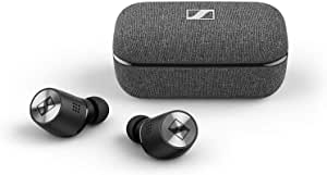 Sennheiser M3IETW2 Momentum True Wireless 2 Bluetooth Earbuds with Active Noise Cancellation - Black, 508674