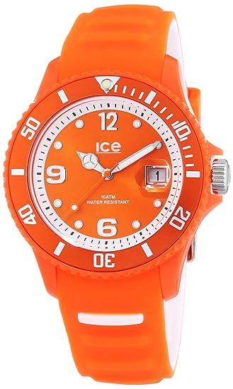 Ice-Watch Ice-Sunshine - Reloj de cuarzo unisex, con correa de silicona, color naranja: Amazon.es: Relojes