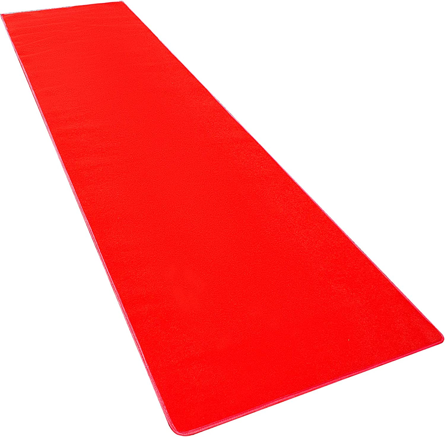 Red Carpet Aisle Floor Rug Party Decor shock-absorption Hallway Easy Clean