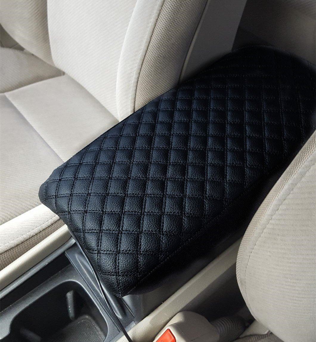 Fit for Chrysler 300 2011-2019 Center Console Lid Armrest Cover Decor Protector
