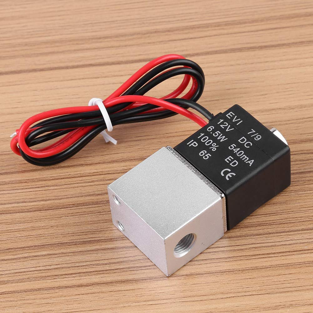 Pneumatic Solenoid Valve Electric Normally Closed Air Valve Brass unidirectional 2Way 2 Position Connection Type for Air Gas