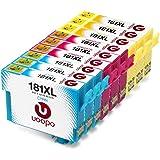 Uoopo Compatible Remplacer pour Epson 18XL(T1812 T1813 T1814) Cartouches d'Encre Grande Capacité pour Imprimante Epson Expression Home XP-412 XP-322 XP-422 XP-225 XP-305 XP-405 XP-212 XP-215 XP-415 XP-425 XP-315 , Pack de 9?,3 Cyan, 3 Magenta, 3 Jaunes)