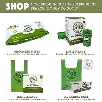Amazon.com: Bolsas de caca biodegradables para perros ...