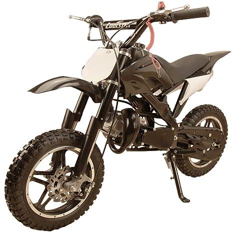 Amazon.com: Mini motocicleta tipo pit bike a gas, con motor ...