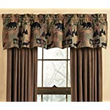 Smoky Mountain Tapestry Lodge Valance - Lodge Window Treatments