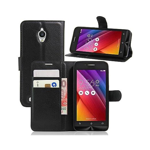 23 opinioni per Guran® Custodia in Pelle per Asus ZenFone Go (5.0 pollici) ZC500TG smartphone
