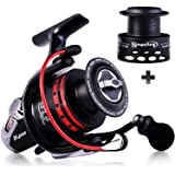 Sougayilang Fishing Reels Powerful 13+1BB Spinning Reels Ultra Smooth Reel for Saltwater or Freshwater