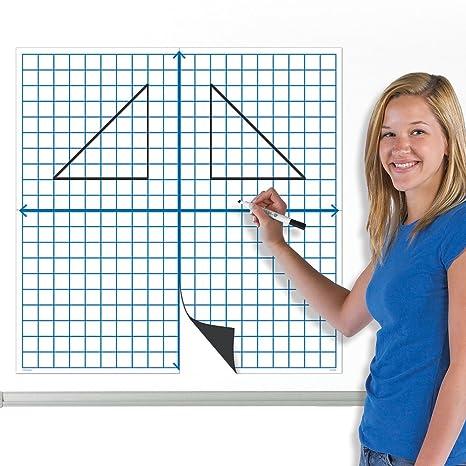 EAI Education Jumbo Magnetic XY Coordinate Grid