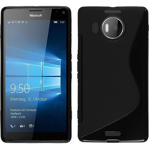 19 opinioni per Lumia 950 XL Custodia,bdeals Custodia in Silicone Ultra morbida flessibile TPU