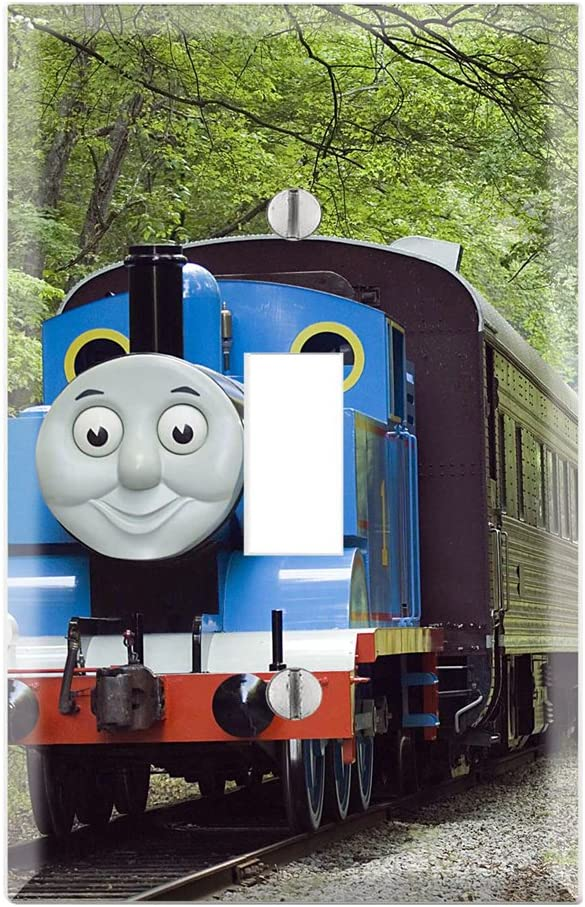 Thomas the Train Double Toggle Switch plate cover