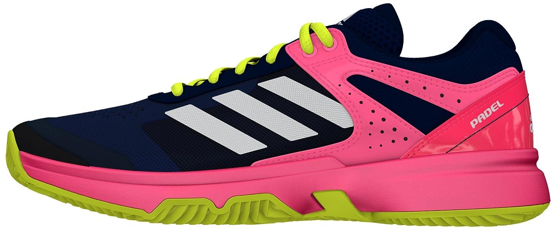 adidas Damen Adizero Court Padel W Tennisschuhe  38 EU|Multicolor (Acetec / Ftwbla / Rojdes)