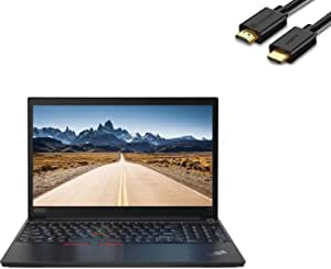 "2020 Lenovo ThinkPad E15 15.6"" FHD Full HD (1920x1080) Business Laptop (Intel 10th Quad Core i5-10210U, 16GB DDR4 RAM, 512GB PCIe SSD) Type-C, HDMI, Windows 10 Pro + IST Computers HDMI Cable"