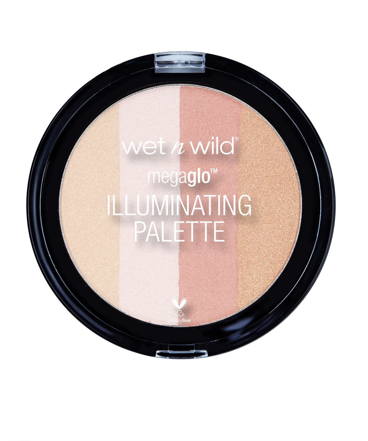 Wet n Wild 320 Megaglo illuminating palette, 0.41 Ounce, Catwalk Pink Markwins Beauty Products
