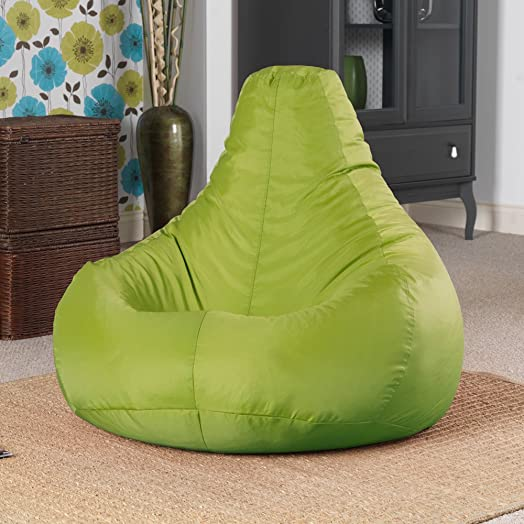 Designer Recliner Gaming Bean Bag LIME GREEN