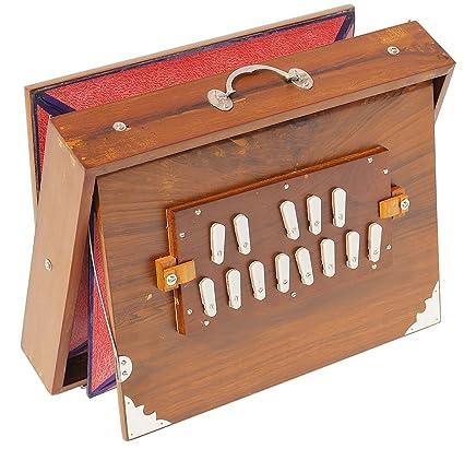 Amazon Com Shruti Box Teak Wood Size 16 X 12 X 3