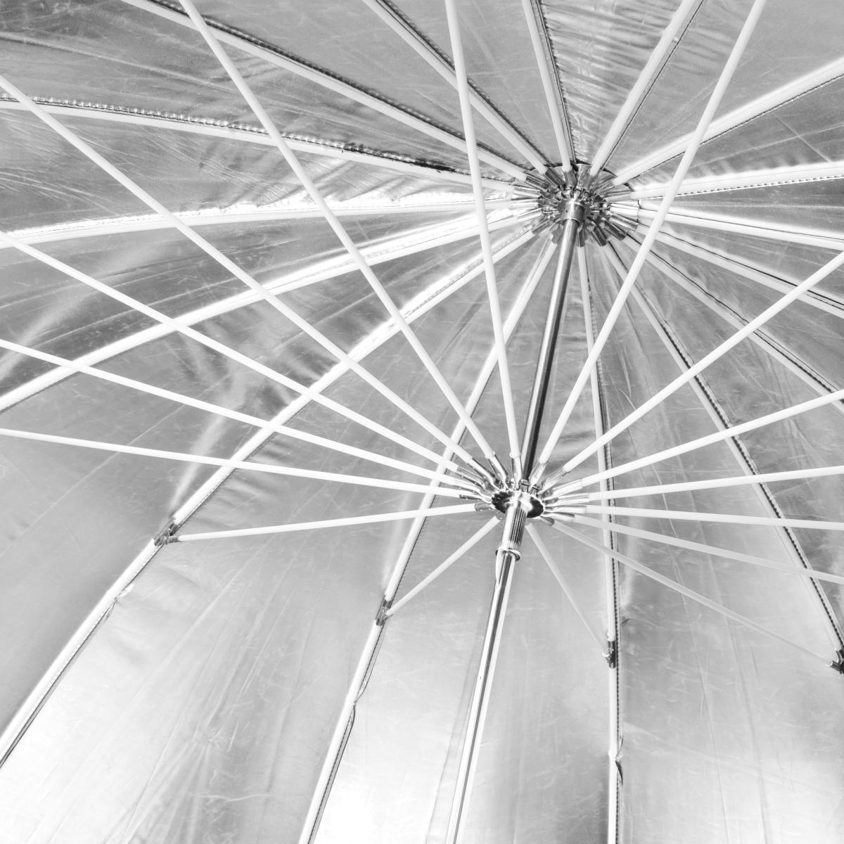 Walimex 18695 - Paraguas, negro y blanco