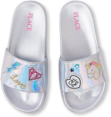 The Childrens Place Kids Slide Sandal
