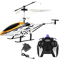 Generic Kids Plastic Flying Helicopter with Remote (Multicolour)