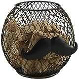 Gentlemen's Wine Cork Holder with Mustache - Gift Idea By Thirteen Chefs™