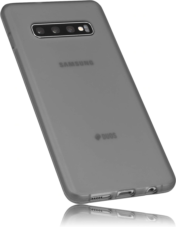 mumbi H/ülle kompatibel mit Samsung Galaxy S10 Handy Case Handyh/ülle schwarz