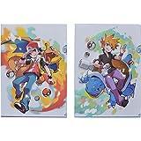 ポケモンセンターオリジナル A4クリアファイル2枚セット Pokémon Trainers レッド&グリーン