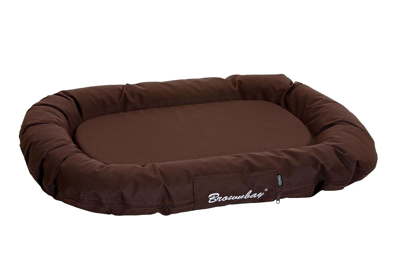 Brown 80 x 60 x 14 cmKarlie Dog Cushion Oval, 140 x 105 x 17 cm, Bordeaux Red