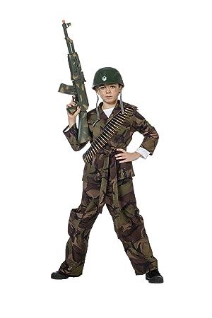 Stekarneval - Disfraz de soldado para niño, talla 11-12 años ...
