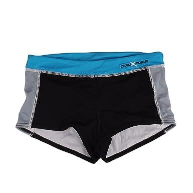 3d81a84ef9bc5 Amazon.com: ZeroXposur Women's Swimwear Shortini Spandex Bottoms (16 ...