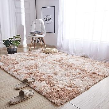Hexagonal Pink Plush Kids Tent Carpet Rug Mat Bedroom Cushion Replacement