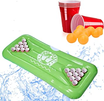 XXL Beer Pong Bier Pong Set | aufblasbare hochwertige