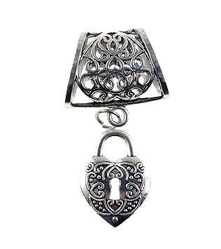 Amazon lock pendant slide make your own pendant necklace diy lock pendant slide make your own pendant necklace diy aloadofball Images