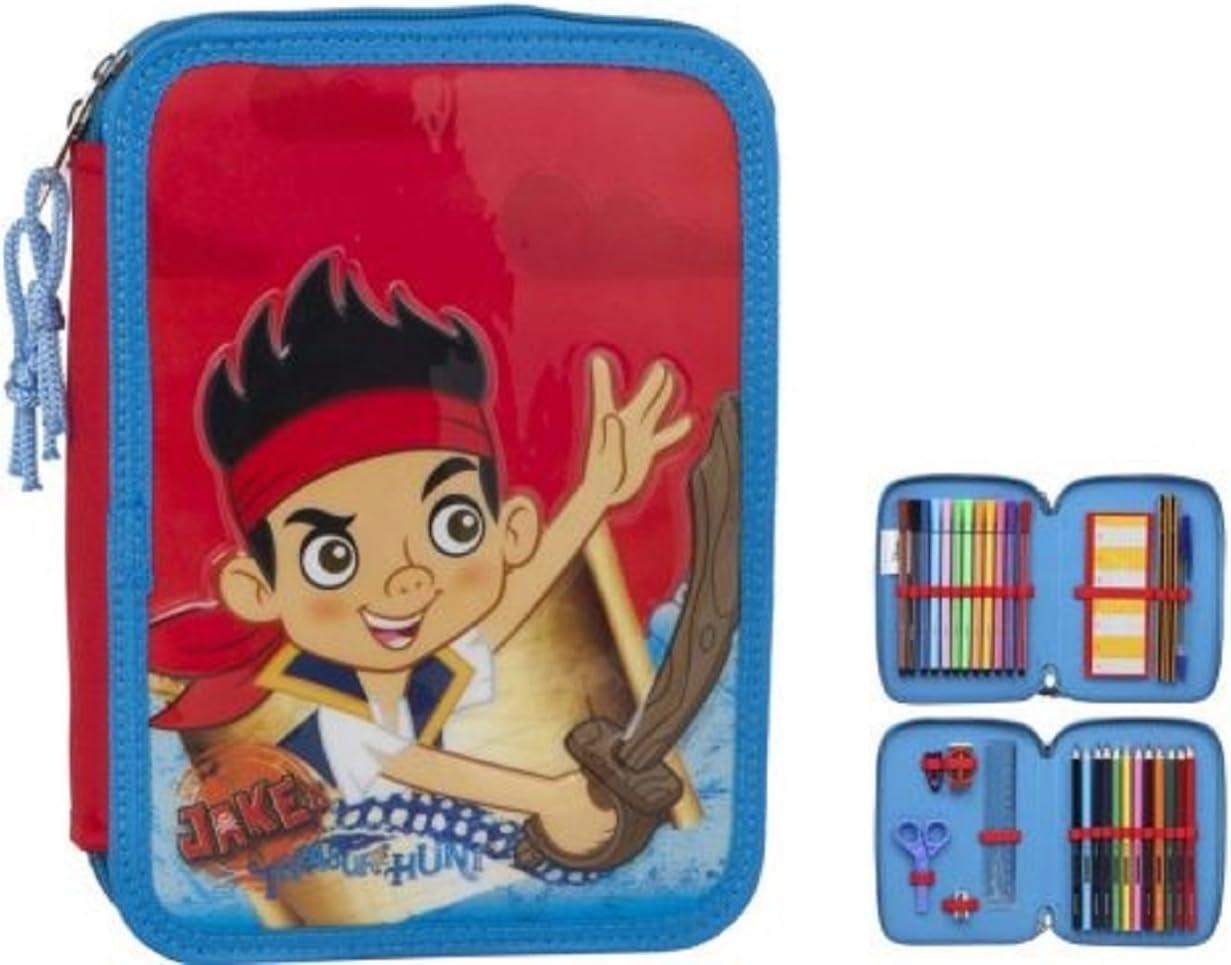 Atosa-27894 Piratas del País De Nunca Jamás Estuche Niño Jake, Color Rojo (27894): Amazon.es: Juguetes y juegos