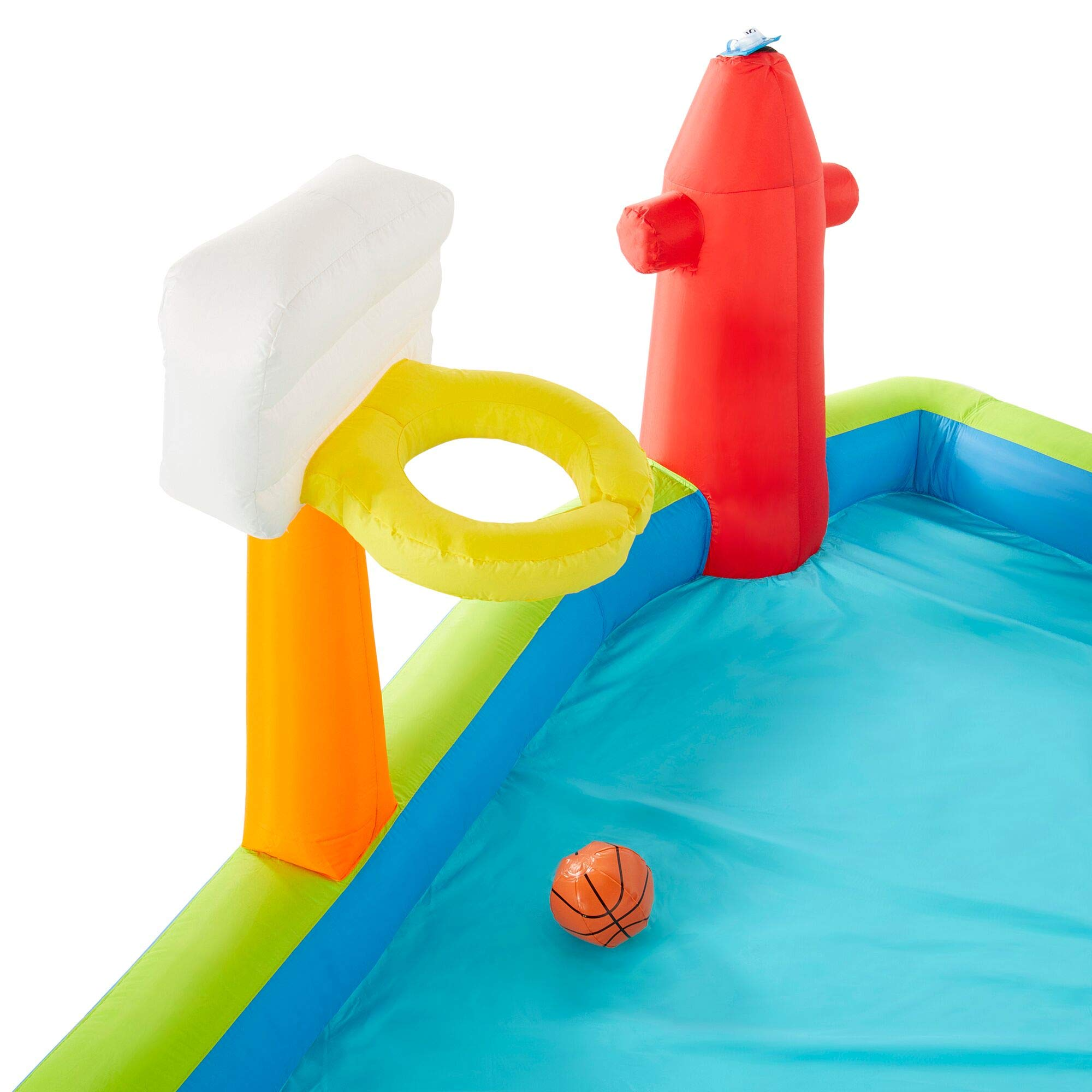 Riptide Triple Fun Inflatable PVC Water Park with 3 Slides & Obstacle Course by Riptide (Image #5)
