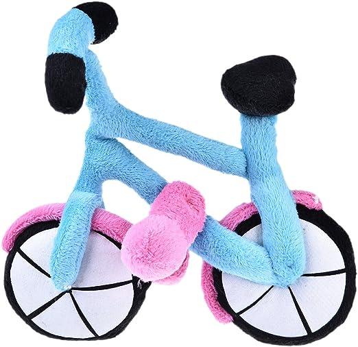 Yunt juguete para animales domésticos Mignon bicicleta de peluche para perro/gato: Amazon.es: Productos para mascotas