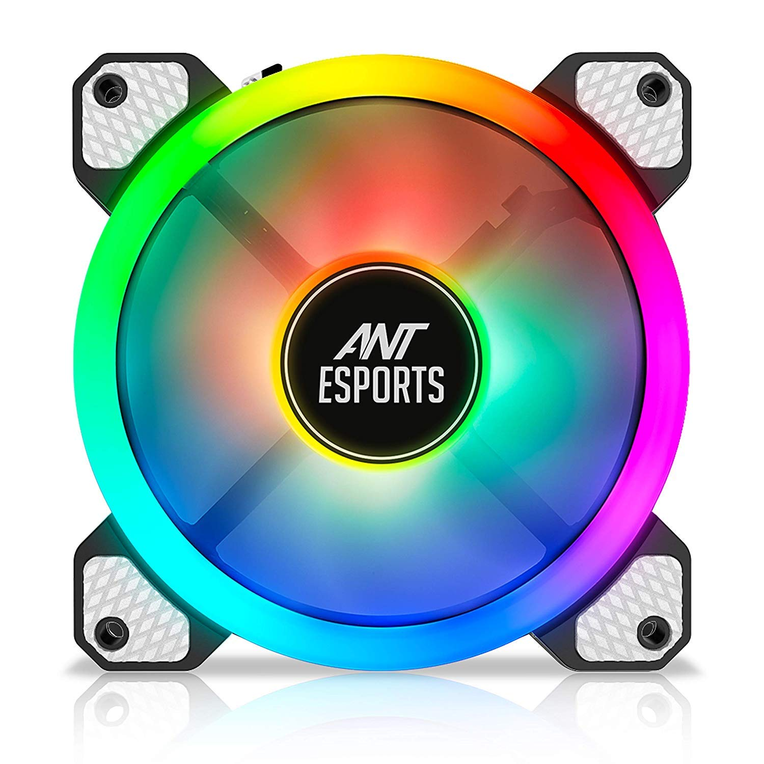 Ant Esports Superflow 120 Auto RGB V2 1200 RPM Case Fan/Cooler