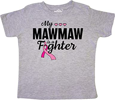 Inktastic Childhood Cancer Fighting Strong Toddler T-Shirt Awareness Ribbon Gift