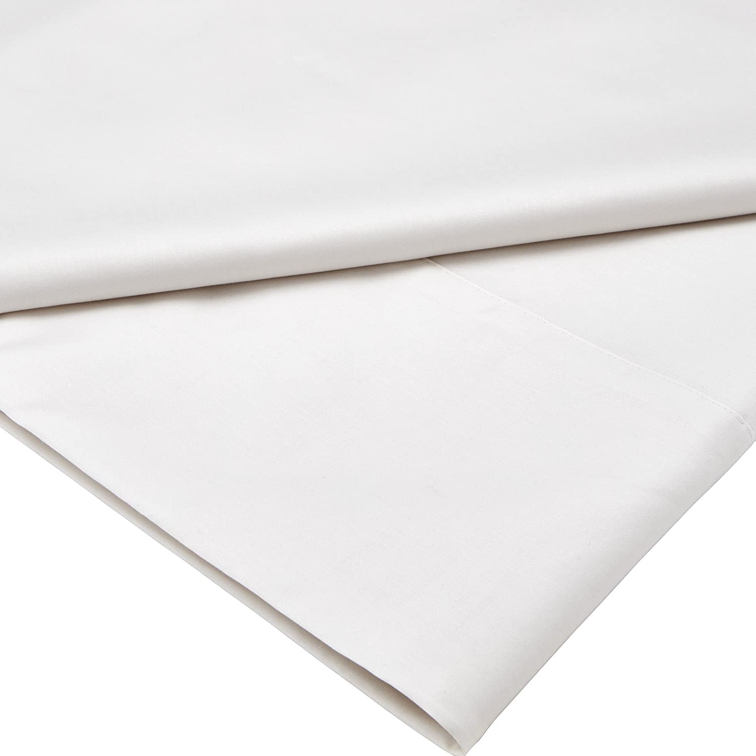 Silver Royal Sheridan Luxuriously Comfortable 500 Thread Count Cotton Sateen Flat Sheet Double Size