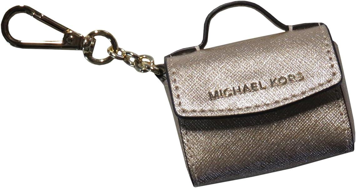 Michael Kors Ava Keychain (Pale Gold)