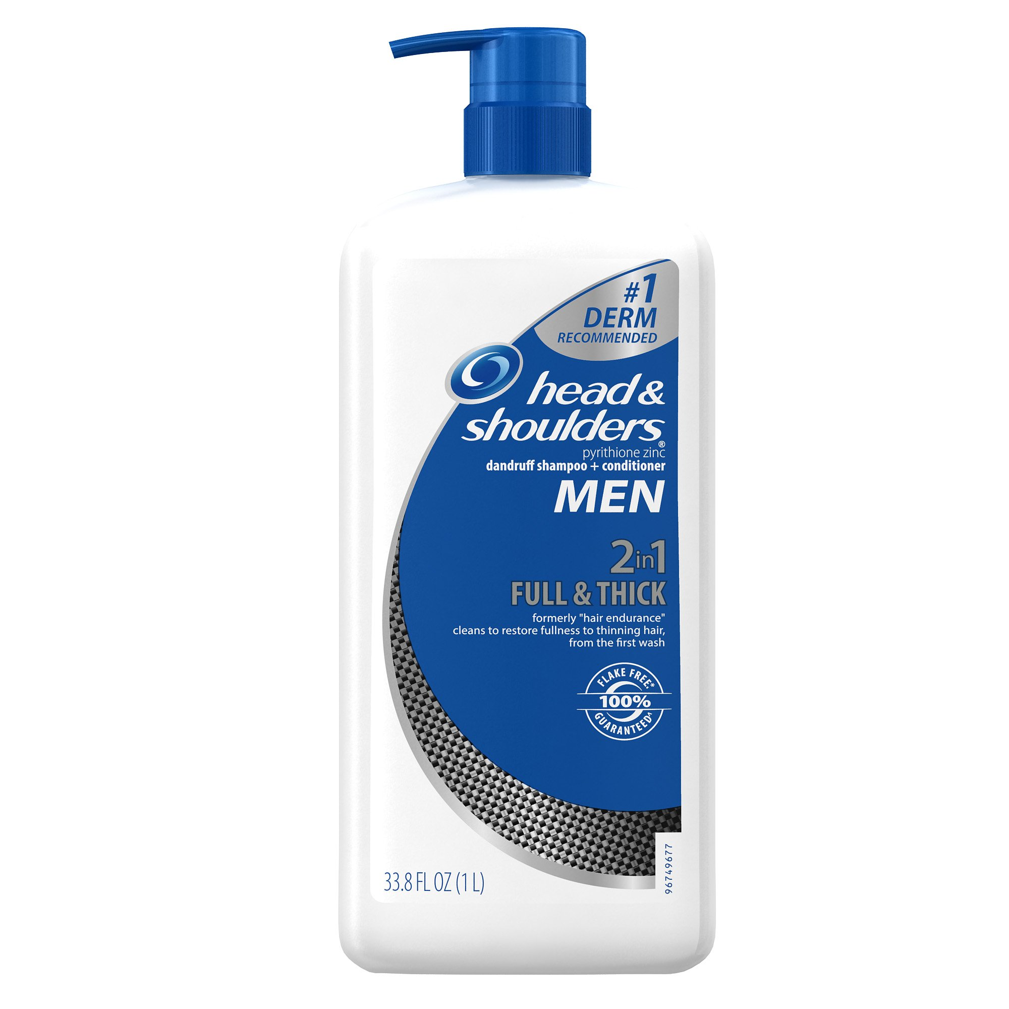 Head and Shoulders Men Full and Thick 2-In-1 Dandruff Shampoo and Conditioner - 32.1 Fluid Ounces