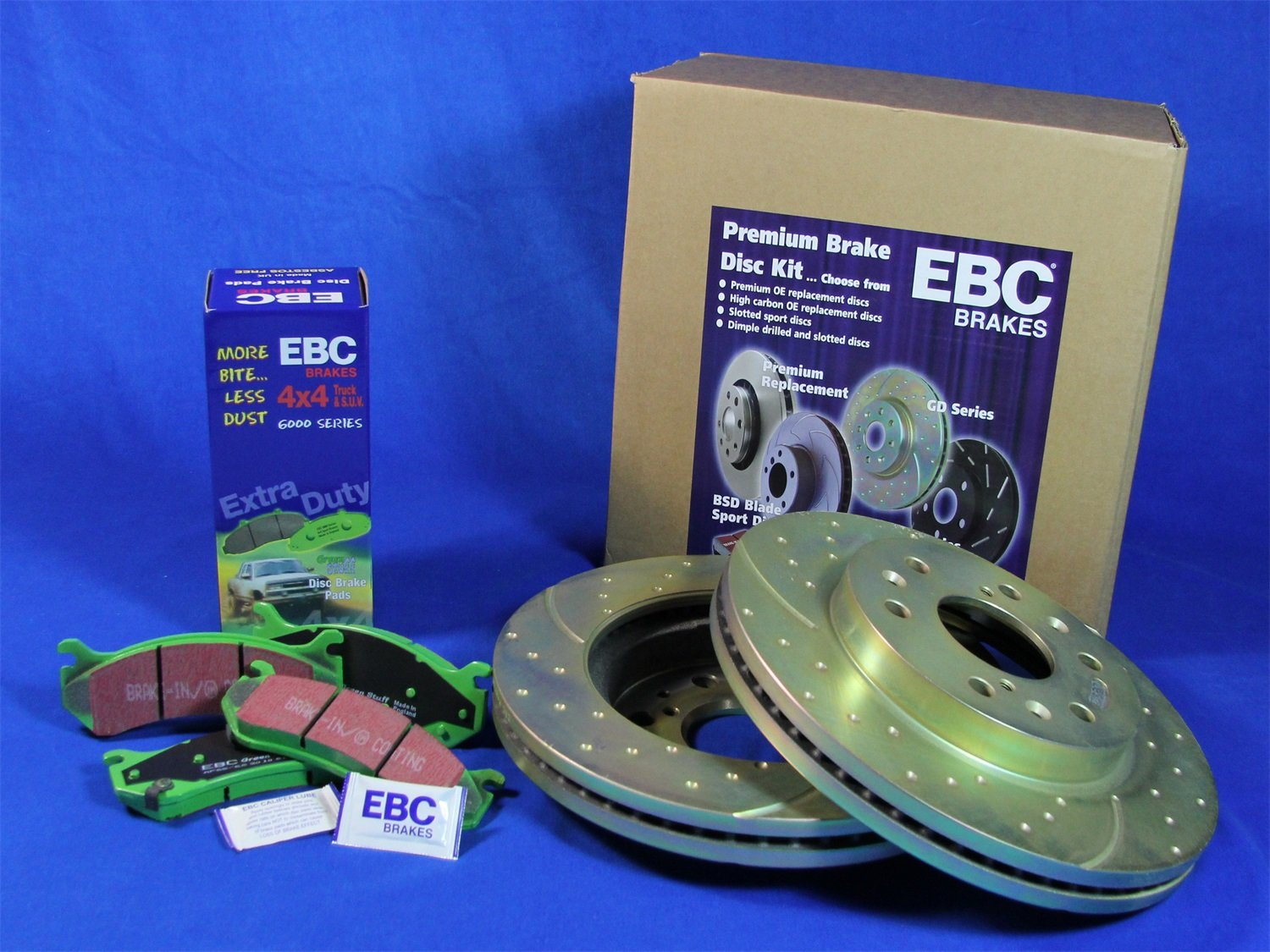 EBC S3KR1044 Stage-3 Truck and SUV Brake Kit