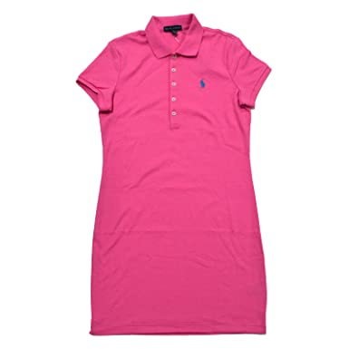 Ralph Lauren Sport Womens Polo Dress with Pony Player Logo at Amazon  Women s Clothing store  76a1ee5b8c4c