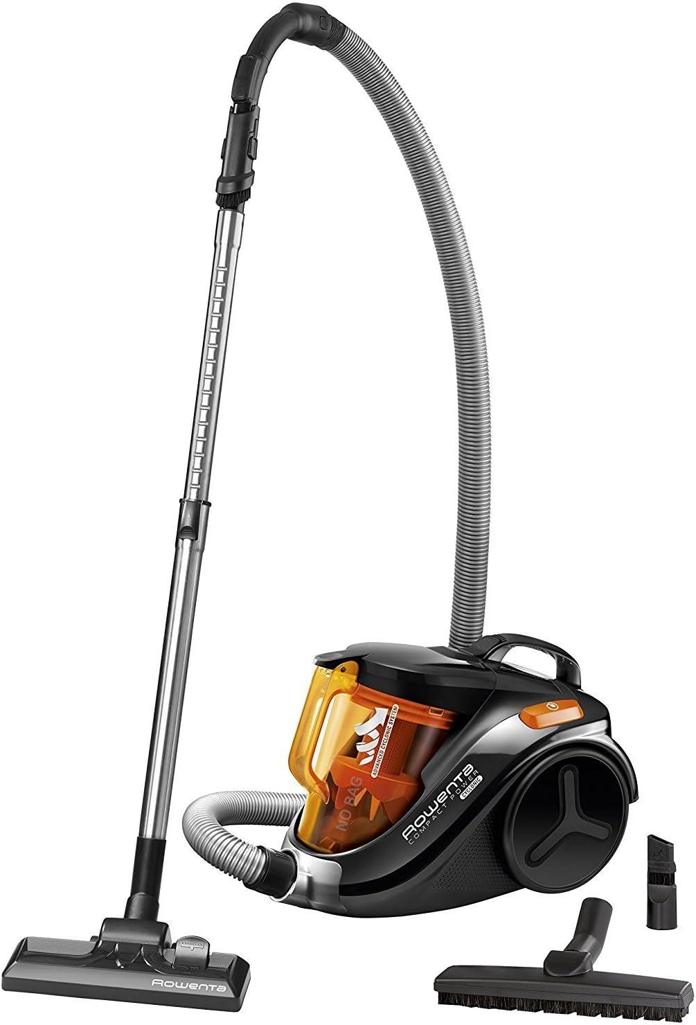 Rowenta Compact Power Cyclonic RO3753 - Aspirador, color negro [Clase de eficiencia energética A] (Reacondicionado Certificado): Amazon.es: Hogar