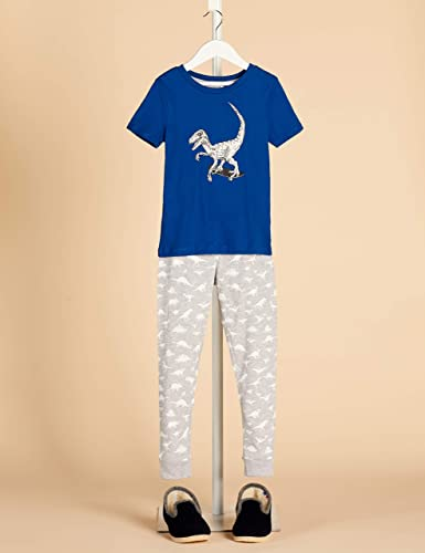 Marca Amazon - RED WAGON Pijama de Satén Niños, Pack de 2 ...