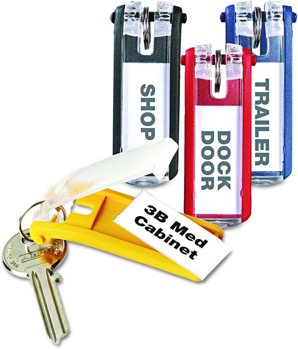 Durable Office Products 24-Pack Key Tags, Assorted