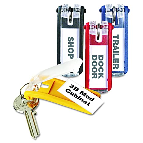 Key Clip Red Pack of 6 Durable Office Products 1957//03
