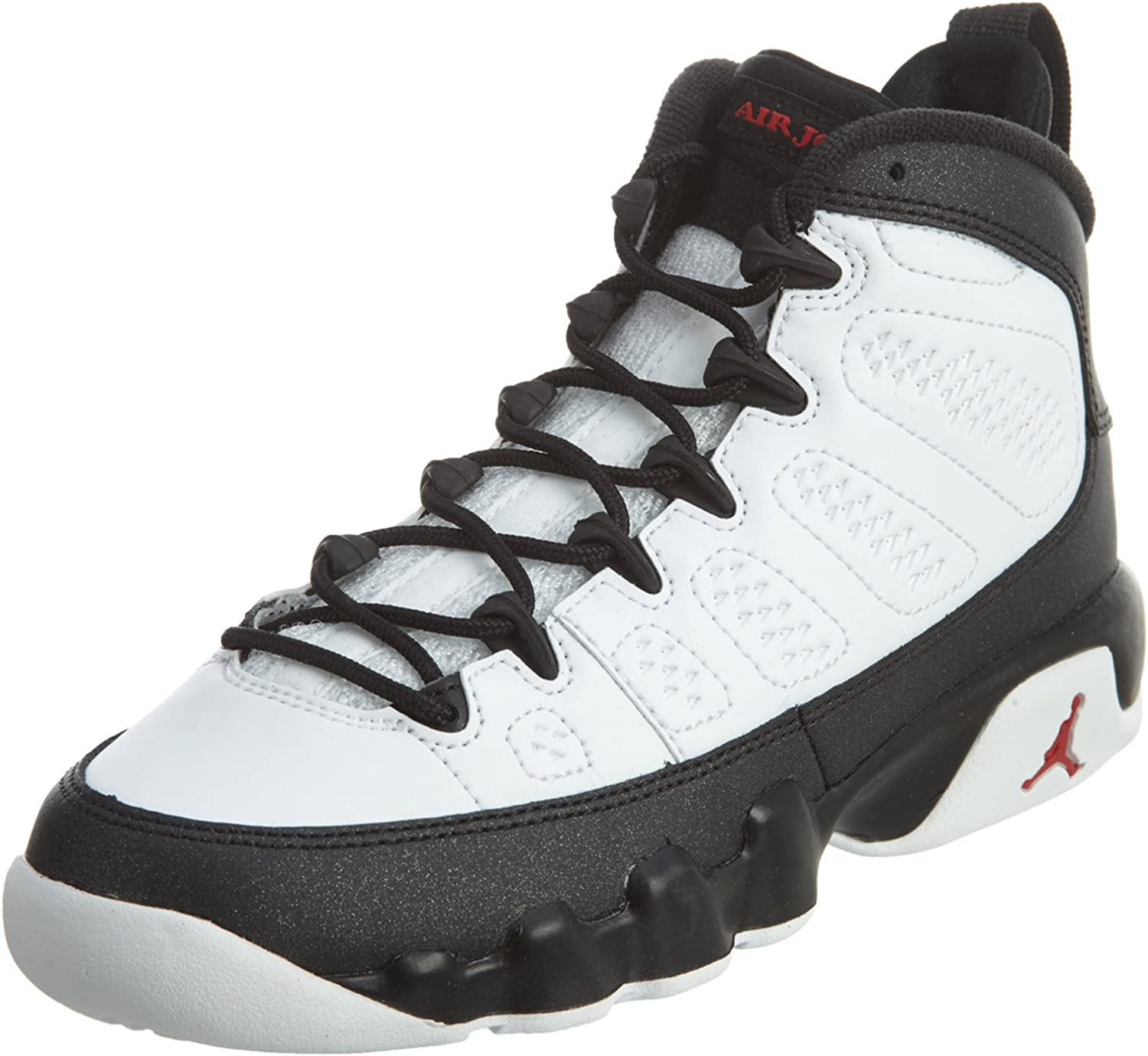 Viaje mayor testigo  Amazon.com | Nike Air Jordan 9 Retro BG Black & White Space Jam LTD RARITY  Basketball Shoes Sneaker black/white | Basketball