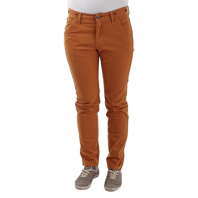 Abbigliamento 24 Donna Pantaloni Amazon it Lee Arancione UqY7nn4